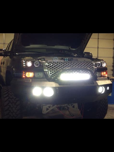 2004 silverado light bar 2004 silverado quot black mamba quot led lights added dual