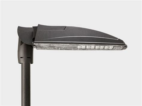 cariboni illuminazione lione stradale a led in alluminio phos plus sistema