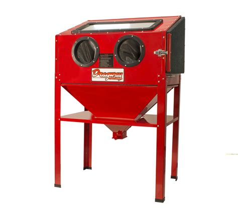 sand blast cabinets new 60 gallon sandblast cabinet sand blaster air tool w 40lb bottom feed hopper ebay