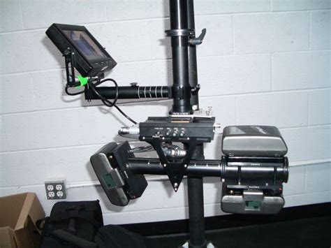 Glidecam Fojadu Stabilizer 2nd monitor for glidecam 4000 at dvinfo net