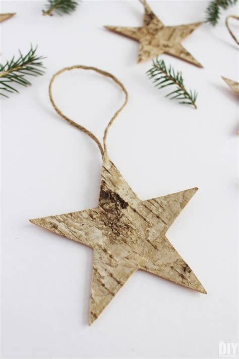 quick and easy christmas decorations to make birch