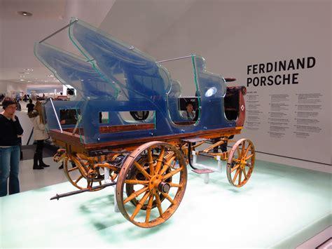 porsche    electric car   world war
