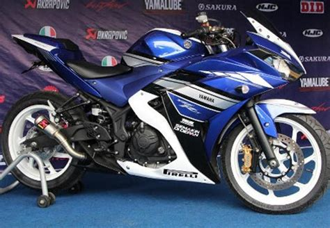 New Vixion Model Yzf R25 Blue Yamaha R25 Special Edition Launched In Indonesia Limited