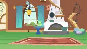 Livingroom Cartoon Fluttershy S Living Room By Anitech On Deviantart