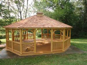Small Gazebo Plans by Add Beauty To Your Yard By Choosing A Wooden Gazebo