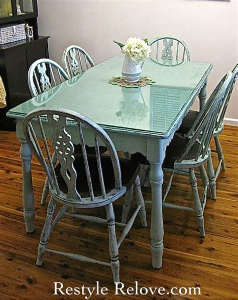 vintage green dining chairs farmhouse style vintage green dining table chairs