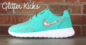 Nike roshe one customized by glitter from glitter kicks things