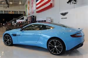 Aston Martin Vanquish Light Blue 2013 Aston Martin Vanquish Is A Rhapsody In Blue W