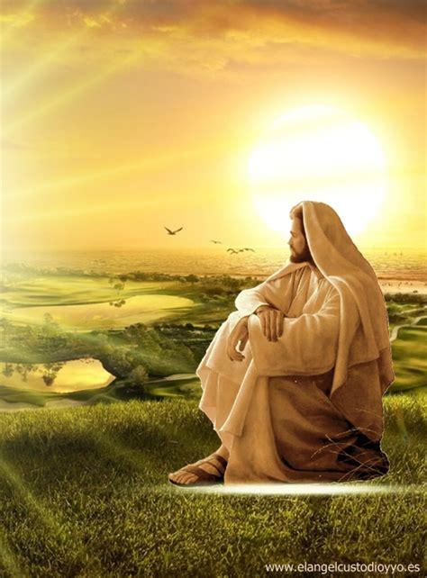 imagenes de jesus sentado vida en el sentido divino