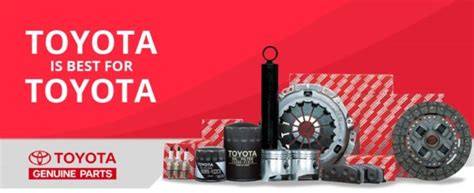 Sparepart Resmi Toyota toyota launches portal toyotapartsconnect to retail genuine spare parts accessories