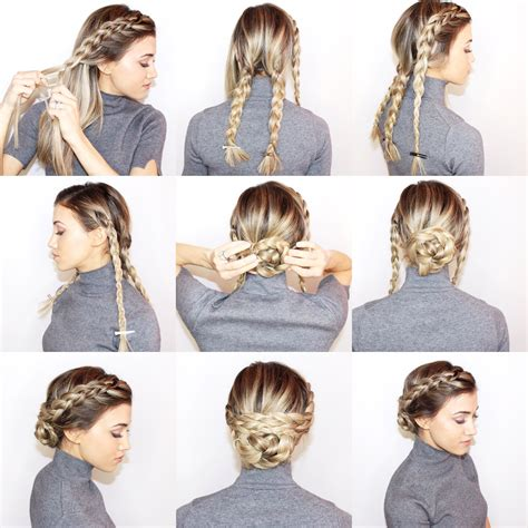 hairstyles buns pinterest oscar worthy hairstyles get the look desiree hartsock