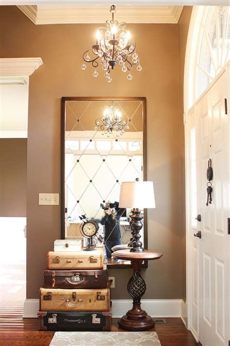 Foyer Mirrors by Foyer Mirror On Foyer Wall Decor Modern Foyer