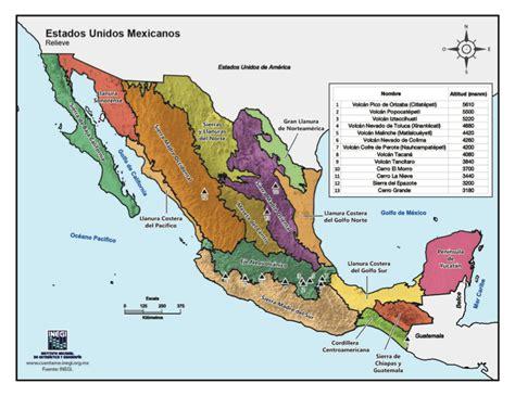 la repblica y sus recursos educativos en l 237 nea mapas de la rep 250 blica mexicana