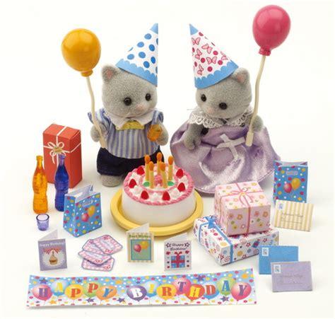 kit festa  compleanno  personaggi sylvanian families