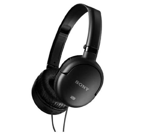 Headset Sony M Dual sony mdr nc8 black ear noise cancelling headphones with dual folding design dictation