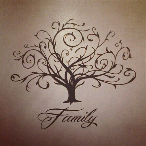 tattoo family lettering swirly family tree tattoo lettering pinterest family