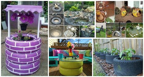 17 Best Images About Diy Crafts On Outdoor - 12 diy ideas how to re purpose tire for outdoor top