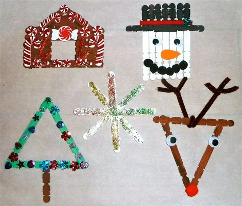 picture  craft stick christmas