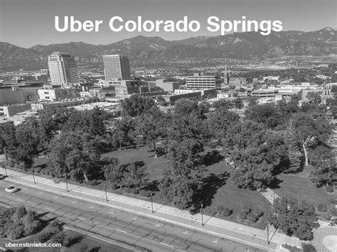 uber in colorado springs us estimate fares updated rates