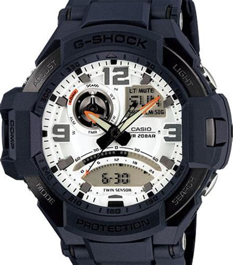 Casio Ga 1000 2a blue sensor aviation ga1000 2a casio g shock wrist