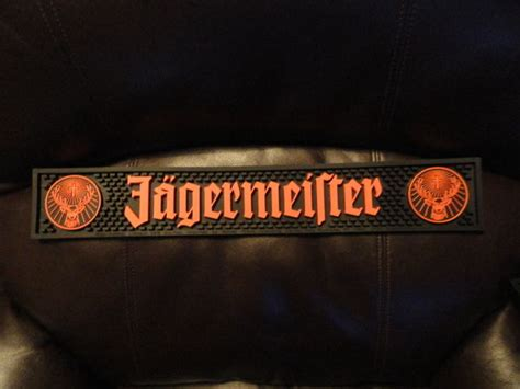 Jagermeister Bar Mat by Jagermeister Bar Mat Shop Collectibles Daily