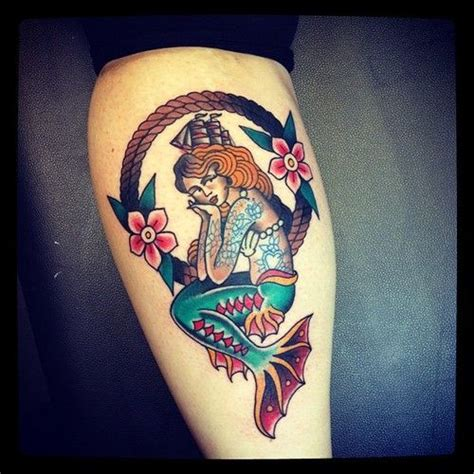 traditional mermaid tattoo 1000 images about american traditional mermaid on