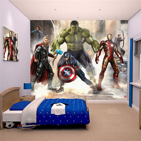 marvel bedroom decor marvel comics and avengers wallpaper wall murals d 201 cor bedroom