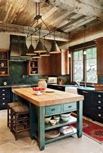 25 best rustic cabin kitchens ideas on pinterest rustic