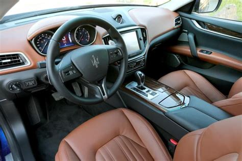 maserati ghibli brown interior picture other maserati ghibli interior brown leather 01 jpg