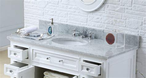 derby 48 inch traditional bathroom vanity marble