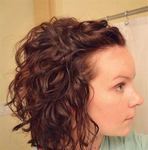 Short Hair Cuts For Natural Curly Hair Front And Back Views | short cuts for curly hair the best short hairstyles for