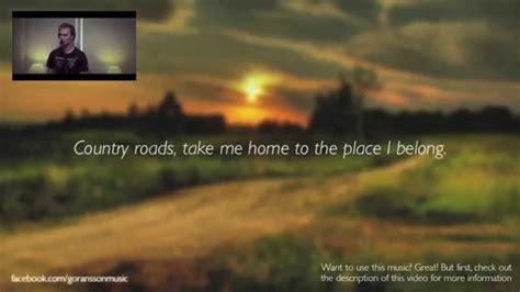 take me home country roads denver karaoke w