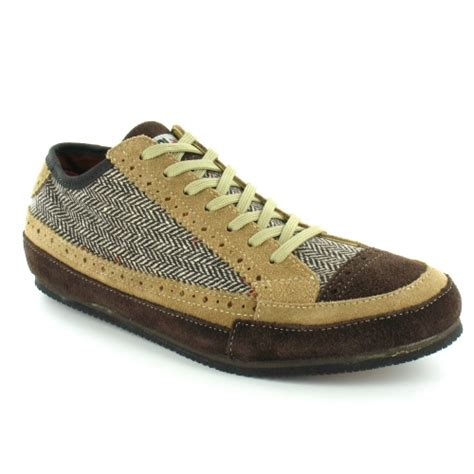 yo japan toyo mens tweed and suede casual 7 eyelet lace