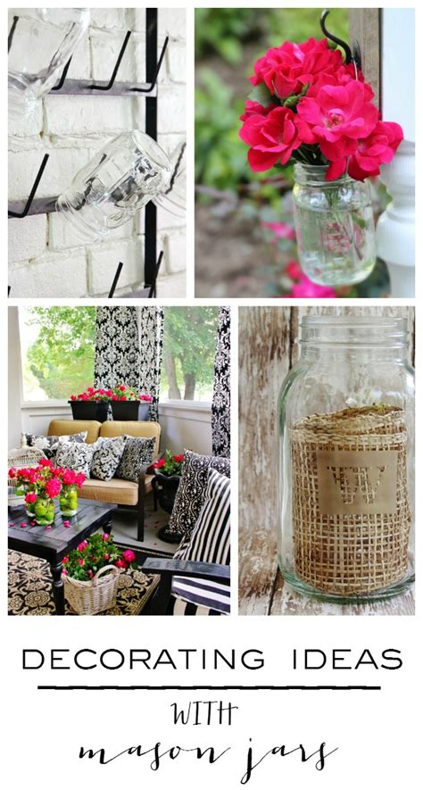 Ideas For Decorating Jars For - five simple ideas for decorating with jars