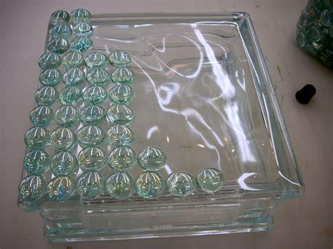 glass craft krafty blok glass block craft for home decor vicki odell
