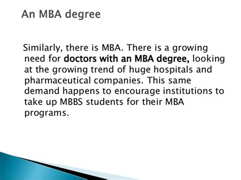 After Mba Pharmaceutical Management by Future After Mbbs 10 Things You Could Do After Your Graduation