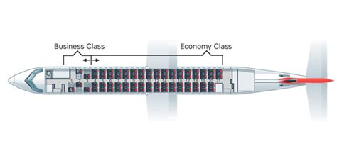 dash 8 400 seating bombardier q400