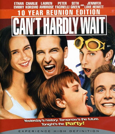 can t hardly wait trailer can t hardly wait movies and music pinterest