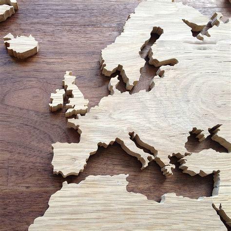 wooden nz bespoke wooden map by woodenworlds notonthehighstreet