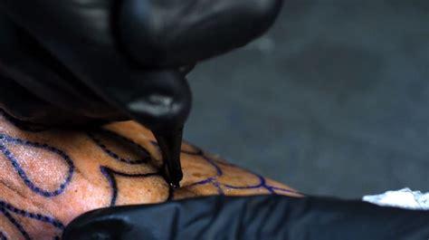 tattoo process close up a fascinating video reveals tattoo making close up video