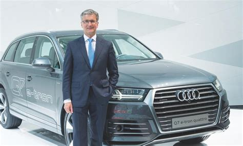 who is the ceo of audi audi ceo stadler focuses on suvs sees no need for minivans