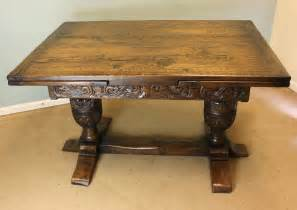antique oak table antique oak refectory draw leaf dining table antiques atlas