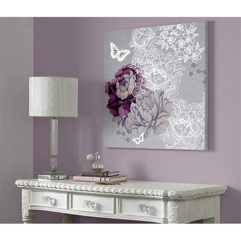 wall decor for purple bedroom minus the big white butterfly i love this monsoon