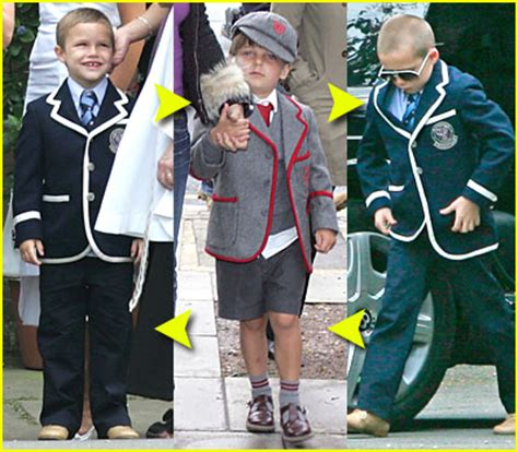 romeo beckham school london wetherby fashion faceoff ralph lauren blazer brooklyn beckham