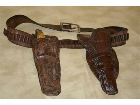 gun and knife holster cowboy guns 170a holster bowie knife west