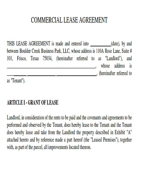 master lease agreement template master lease agreement template 28 images 11 generic
