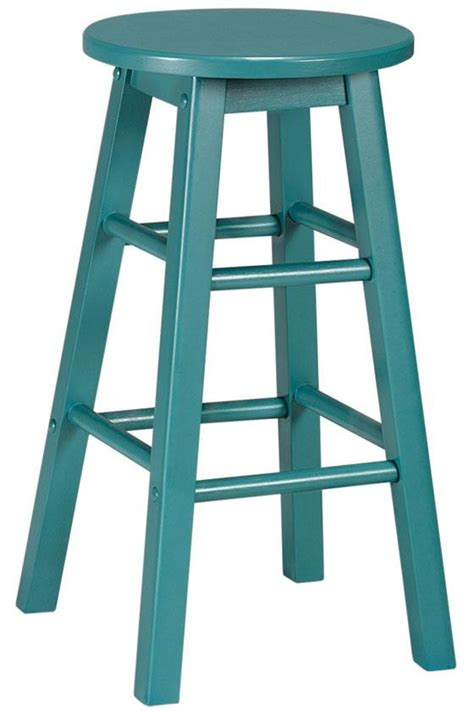 Teal Counter Stool by Turquoise Stools House