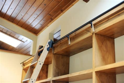 Rolling Closet Ladders by Rolling Library Ladder Modern Closet Milwaukee By
