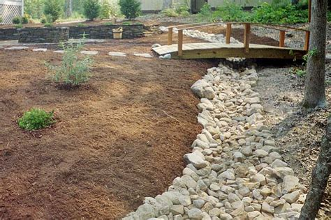 landscaping with river rock river rock slideshow exles from landscape elements
