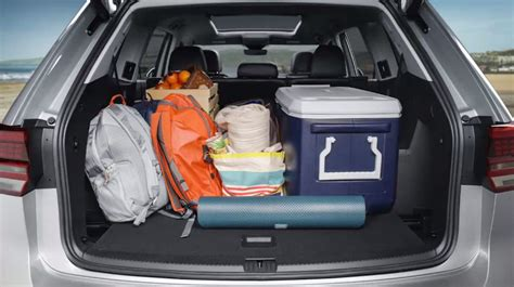 volkswagen atlas trunk atlas storage best storage design 2017